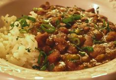 Red Beans & Rice recipe from NOLA Cuisine