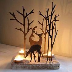 Bald beginnen die dunklen Tage wieder… also schön gemütlich Kerzen an im Haus! 10 gemütliche Kerzen Dekorations Ideen! - DIY Bastelideen