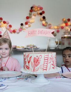 A 4th Birthday Party for Miss Milla