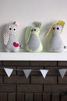 Bunnies this cute might have just inspired me to change my owl themed nursery onto a bunnie themed one.