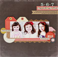 Hello 7 *Crate Paper* - Scrapbook.com  ...Wendy Schultz onto Scrapbook Layout's.