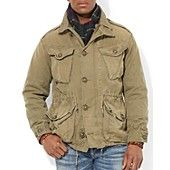 Polo Ralph Lauren Canadian Combat Jacket. $395