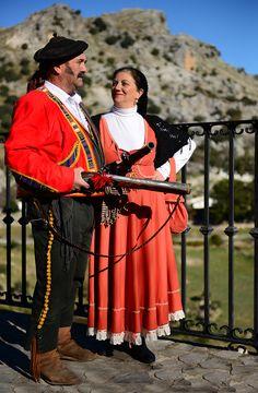 Bandoleros de Grazalema Andalusia Spain, Andalucia, Romantic, Costumes, City, Ideas, Warriors, Cities, Historia