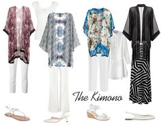 How to wear a kimono plus some of the best to buy right now | 40plusstyle.com