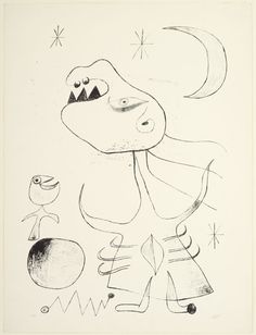 Joan Miró (1893-1983), Untitled - Plate 32 from Barcelona Series