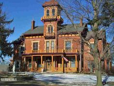 "1886  11373 W US Hwy 20, Galena, IL ""One of the most beautiful and unique properties you will ever see. This Historic Galena Brick is currently being operating as The Ryan Mansion Guest House."