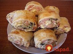 Spanakopita, Sushi, Food And Drink, Appetizers, Pizza, Cheese, Meat, Chicken, Cooking