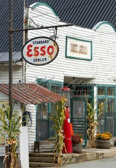 Mast General Store in Valle Crucis, North Carolina. The store is located along a North Carolina scenic byway called Mission Crossing.