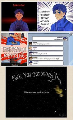 Jojo's Bizarre Adventure, Jojo's Adventure, Stupid Funny Memes, Haha Funny, Funny Relatable Memes, Paranormal, Jojo Anime, Jojo Parts, Jojo Memes
