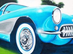 I love vintage Cars.