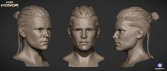 ArtStation - For Honor Viking Heads, Can Etiskol