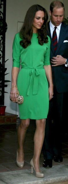 Leslie Ann: DUPE IT: Kate Middleton in Diane von Furstenburg Dress
