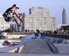 best inner city skate park - Google Search Skate Park, Environment, Louvre, Street View, Exterior, Urban, Architecture, City, Building
