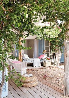 No Es Un Espeo Oasis De Frescor Outdoor Roomsoutdoor Livingoutdoor
