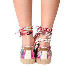 Slipo cuerda blanco | MIPACHA Shoes | Spring/Summer 2015 | Handmade in Peru | Festival Shoes