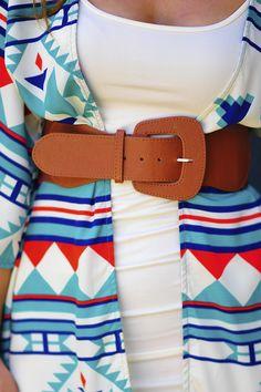 Country Girl Belt: Tan