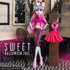 Monster Doll Sweet Halloween Dress Set от AralGhostier на Etsy