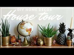 (1064) Home Decor House Tour - Easy Home Decor Inspiration - YouTube