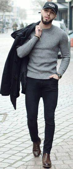 567b28b0524 Simple Casual Outfit Ideas For Men  MensFashionWinter