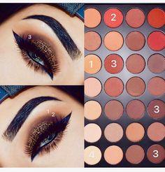 Makeup looks – Lush Makeup Ideas Cute Eye Makeup, Makeup Eye Looks, Simple Eye Makeup, Gorgeous Makeup, Makeup Geek, Beauty Makeup, Beauty Tips, Face Makeup, Morphe Eyeshadow