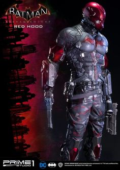 Batman: Arkham Knight Red Hood Statue