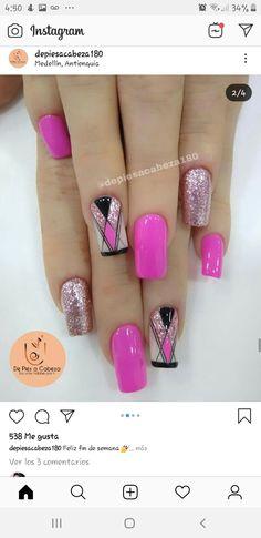 Pretty Nails, Pedicure, Nail Designs, Make Up, Nail Art, Beauty, Dark Nails, Art Nails, Gel Nail
