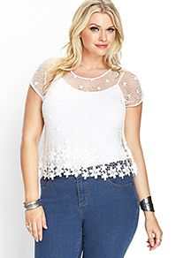 Collect fab plus size tops: prints, tees, peplum, studded | Forever 21