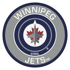 Winnipeg Jets NHL Round Floor Mat (29)