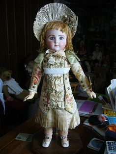 Antique French Bebe doll by J.Steiner. PALMIRA DOLL YAMAZAKI COLLECTION*****COLLECTION *****
