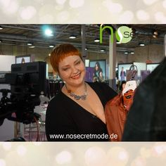 No Secret Mode Styling Expertin Christin Thomsen zusammen mit RTL auf der curvy is sexy Messe 2015— mit Plus Size Model Christin und NoSecret Mode hier: Insel Eiswerder.