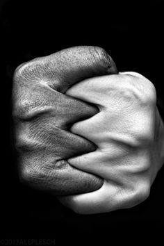 by Aleplesch. Hand in hand, interracial relationships, black and white couple