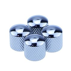 ammoon alice ap12s 12pcspack 03mm stainless steel metal guitar 4pcs silver metal dome tone knob for electric guitar bass parts more at