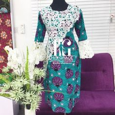Hey Ladies, One beautiful thing that is synonymous with African print is that it will… African Wear Dresses, African Fashion Ankara, African Print Fashion, Africa Fashion, African Attire, Ankara Gowns, Ankara Dress, Peplum Dress, African Shirts