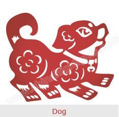 Chinese Dog Horoscope Overview For 2017 Chinese New Year Decorations, Chinese New Year Crafts, New Years Decorations, Chinese New Year Zodiac, Chinese Zodiac Signs, Dog Horoscope, Asian New Year, Chinese Dog, Chinese Paper Cutting