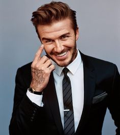 Mr #Beckham always #sharp [ http://ift.tt/1f8LY65 ]