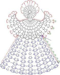 Angels Cradle: Crochet angle