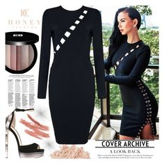 """""""Honey Couture"""" by gaby-mil ❤ liked on Polyvore featuring Edward Bess, La Mer, Jimmy Choo and honeycouture"""