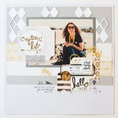 """""""I created this layout of my friend @kimjeffress! Follow her if you aren't! Her favorite color is yellow and everywhere I go I see yellow and I think of…"""""""