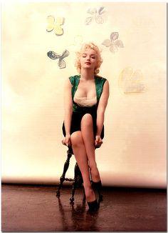 Marilyn Monroe by Milton Greene, March 1955