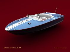 chris craft xk 19