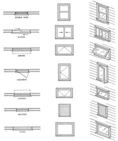 Architecture Symbols, Interior Architecture Drawing, Architecture Blueprints, Architecture Concept Drawings, Interior Design Sketches, Architecture Plan, Architecture Details, Blueprint Symbols, Floor Plan Symbols