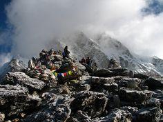 Nepal - Sagamartha Trek - 204 - crowd on Kala Pattar by mckaysavage, via Flickr