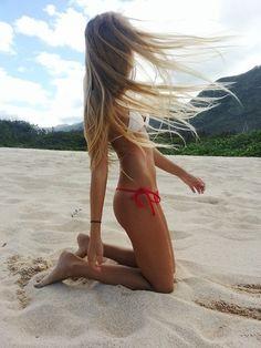 Teen Skinny Girl Blonde Teen walking
