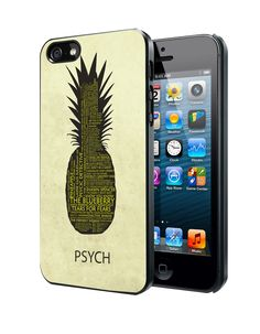 Psych Pineapple Quotes Samsung Galaxy S3/ S4 case, iPhone 4/4S / 5/ 5s/ 5c case, iPod Touch 4 / 5 case