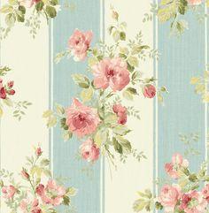 Wallquest Vintage Cottage wallpaper series