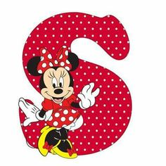 Mouse Alphabet S Mickey Font, Theme Mickey, Minnie Mouse Theme Party, Red Minnie Mouse, Mickey Mouse Club, Mickey And Friends, Disney Mickey, Miki Mouse, Alfabeto Disney