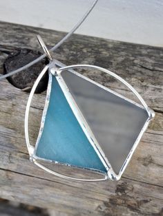 Stained glass pendant handmadeM