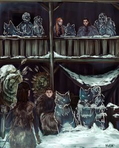 The last of Starks of Thrones ? Game Of Thrones Artwork, Game Of Thrones Houses, Sansa Stark, Winter Is Here, Winter Is Coming, Tolkien Hobbit, Game Of Thones, Fantasy Films, High Fantasy