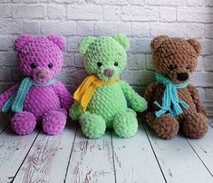 FREE crochet bear pattern Free amigurumi bear pattern from plush yarn Easy Amigurumi Pattern, Crochet Patterns Amigurumi, Amigurumi Doll, Crochet Toys, Crochet Birds, Knitted Dolls, Crochet Animals, Crochet Gratis, Cute Crochet