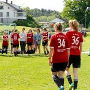 Pause i kampen mot Dal FK fra Horten